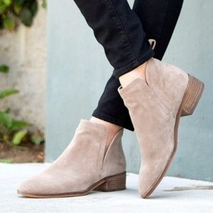 NIB Dolce Vita Tessey Ankle Suede Bootie